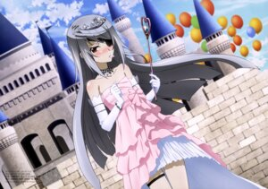 Rating: Safe Score: 63 Tags: dress eyepatch garter infinite_stratos kondou_natsuko laura_bodewig User: drop