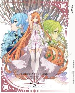Rating: Safe Score: 40 Tags: adachi_shingo asuna_(sword_art_online) leafa sinon sword_art_online sword_art_online_alicization User: kiyoe