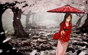 Rating: Safe Score: 12 Tags: kimono mizu_asato wallpaper User: yumichi-sama