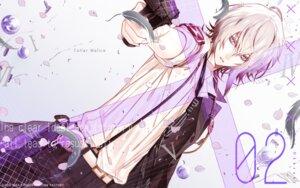 Rating: Safe Score: 11 Tags: collar_x_malice gun hanamura_mai male okazaki_kei wallpaper User: animeprincess