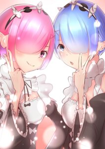 Rating: Safe Score: 18 Tags: maid ram_(re_zero) re_zero_kara_hajimeru_isekai_seikatsu rem_(re_zero) tagme User: Banbinh