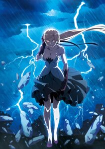Rating: Safe Score: 21 Tags: cleavage dress kizumonogatari oshino_shinobu tagme User: NotRadioactiveHonest