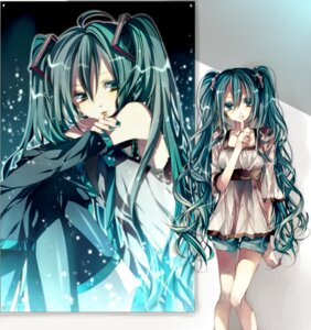 Rating: Safe Score: 28 Tags: hatsune_miku thighhighs tsukioka_tsukiho vocaloid User: charunetra
