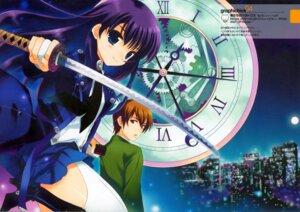 Rating: Safe Score: 15 Tags: bokutachi_no_paradox kirishima_haruna ohara_tometa qp:flapper sakura_koharu sword takasaki_aoba User: tengokuno