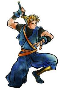 Rating: Safe Score: 2 Tags: galford_d_weller male samurai_spirits shiroi_eiji snk sword User: Radioactive