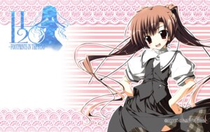 Rating: Safe Score: 8 Tags: h2o_~footprints_in_the_sand~ kagome makura seifuku tabata_yui wallpaper User: syaoran-kun