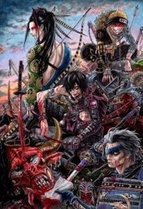 Rating: Questionable Score: 8 Tags: armor blood male monster sword takumi_(marlboro) User: Radioactive
