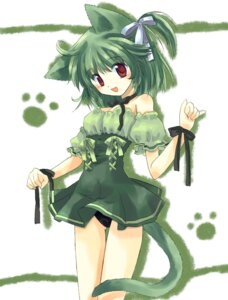 Rating: Safe Score: 13 Tags: animal_ears kuri_medaka nekomimi pantsu tail User: Radioactive