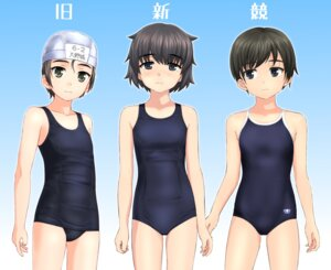 Rating: Questionable Score: 15 Tags: school_swimsuit swimsuits takafumi User: saemonnokami