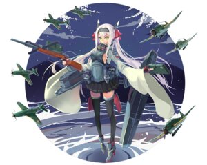 Rating: Questionable Score: 22 Tags: anthropomorphization erect_nipples gun hakuryuu heels no_bra sima_naoteng thighhighs world_of_warships User: charunetra