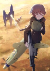 Rating: Safe Score: 11 Tags: animal_ears gun isabelle_du_monceau_de_bergendal pantyhose shimada_humikane strike_witches User: Radioactive