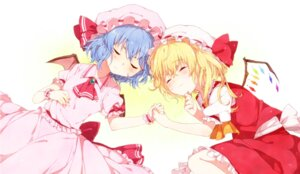 Rating: Safe Score: 21 Tags: flandre_scarlet mgmgkyun remilia_scarlet touhou wings User: animeprincess