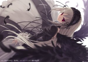 Rating: Safe Score: 71 Tags: endcard gothic_lolita lolita_fashion rozen_maiden suigintou sumaki_shungo wings User: blooregardo