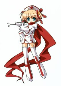 Rating: Safe Score: 7 Tags: hinoue_itaru kamikita_komari key little_busters! nurse thighhighs User: Kalafina