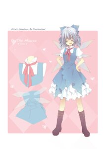 Rating: Safe Score: 13 Tags: blue_hallelujah cirno touhou User: Radioactive
