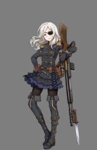 Rating: Safe Score: 15 Tags: armor eyepatch gun pantyhose princess_principal tagme thighhighs transparent_png weapon User: NotRadioactiveHonest