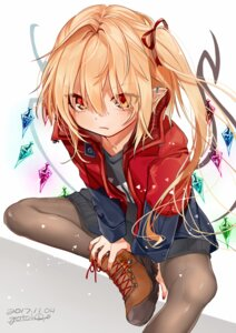 Rating: Safe Score: 57 Tags: flandre_scarlet gotoh510 pantyhose pointy_ears touhou wings User: Randeel