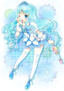Rating: Safe Score: 14 Tags: heartcatch_pretty_cure! kurumi_erika michii_yuuki pretty_cure thighhighs User: fireattack