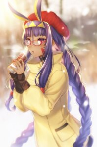 Rating: Safe Score: 40 Tags: amakura_(am_as) animal_ears bunny_ears fate/grand_order megane nitocris_(fate/grand_order) User: Nepcoheart