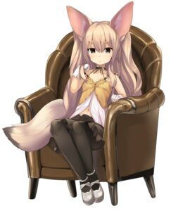 Rating: Safe Score: 37 Tags: animal_ears cleavage fennec haik kemono_friends pantyhose tail User: Mr_GT