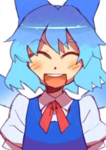 Rating: Safe Score: 4 Tags: cirno katou_haruaki touhou User: Radioactive