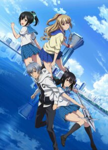 Rating: Safe Score: 38 Tags: aiba_asagi akatsuki_kojou akatsuki_nagisa digital_version himeragi_yukina seifuku strike_the_blood strike_the_blood_ii sweater weapon User: Hazx