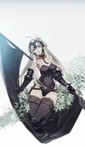 Rating: Safe Score: 42 Tags: armor cleavage fate/grand_order hoshimawa jeanne_d'arc jeanne_d'arc_(alter)_(fate) leotard sword thighhighs User: Mr_GT