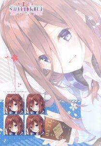 Rating: Safe Score: 9 Tags: 5-toubun_no_hanayome expression headphones mocha nakano_miku seifuku sweater User: kiyoe