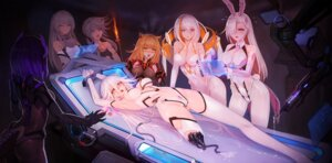 Rating: Explicit Score: 72 Tags: animal_ears ass bodysuit bondage bunny_ears bunny_girl cameltoe cleavage cum hanshu mecha_musume pantyhose pussy_juice User: Dreista