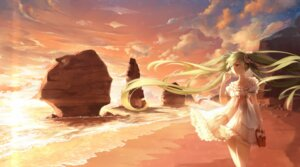 Rating: Safe Score: 54 Tags: 3000kojun dress hatsune_miku landscape vocaloid User: charunetra
