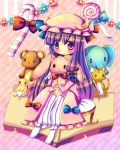 Rating: Safe Score: 8 Tags: hinahina patchouli_knowledge touhou User: yumichi-sama
