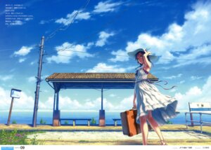 Rating: Safe Score: 74 Tags: dress hisakata_souji landscape summer_dress User: Share