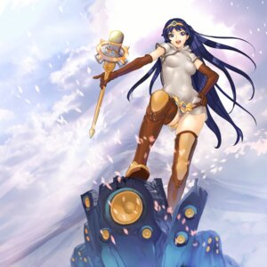 Rating: Safe Score: 28 Tags: chinadress hakua_ugetsu ki_(druaga) thighhighs tower_of_druaga weapon User: eridani