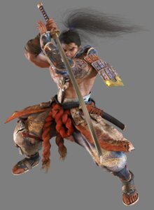 Rating: Safe Score: 3 Tags: heishirou_mitsurugi japanese_clothes kawano_takuji samurai soul_calibur soul_calibur_iv sword transparent_png weapon User: Yokaiou