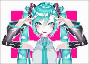 Rating: Safe Score: 14 Tags: 1055 hatsune_miku headphones vocaloid User: charunetra