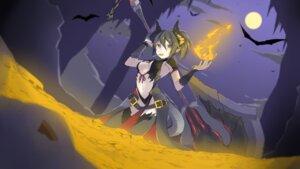 Rating: Safe Score: 29 Tags: fhang horns no_bra pointy_ears tail thighhighs weapon User: nphuongsun93