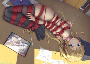 Rating: Explicit Score: 143 Tags: bondage lactation naked nipples pussy_juice sawamura_spencer_eriri thighhighs tokinohimitsu User: Mr_GT