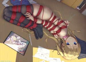 Rating: Explicit Score: 94 Tags: bondage lactation naked nipples pussy_juice thighhighs tokinohimitsu User: Mr_GT