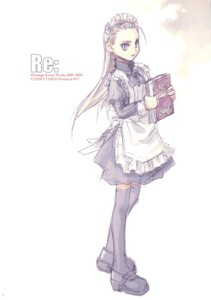 Rating: Safe Score: 5 Tags: closet_child konoe_ototsugu maid thighhighs User: Aurelia