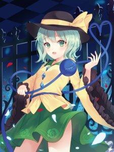 Rating: Safe Score: 9 Tags: hum_(ten_ten) komeiji_koishi skirt_lift touhou User: Dreista