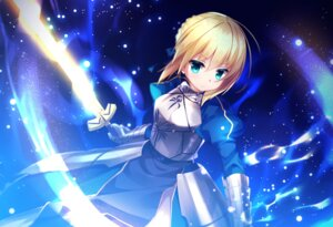 Rating: Safe Score: 14 Tags: armor dress fate/stay_night hisagi saber sword User: Mr_GT