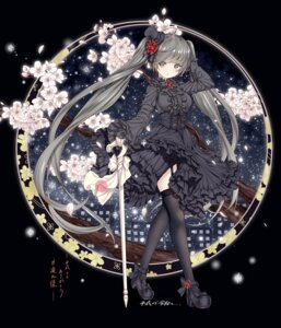 Rating: Safe Score: 51 Tags: catbell dress gothic_lolita heels lolita_fashion stockings thighhighs User: Mr_GT