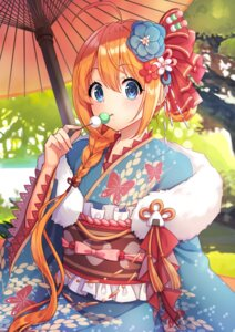 Rating: Safe Score: 21 Tags: kimono pecorine princess_connect princess_connect!_re:dive shiorin1910 User: Dreista