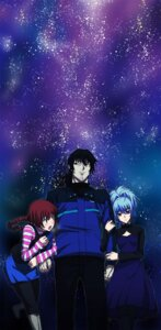 Rating: Safe Score: 6 Tags: darker_than_black dress hei hidegue suou_pavlichenko yin User: Radioactive