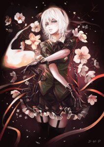 Rating: Safe Score: 46 Tags: dantewontdie konpaku_youmu stockings sword thighhighs touhou User: charunetra