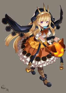 Rating: Safe Score: 30 Tags: baicha cagliostro_(granblue_fantasy) dress granblue_fantasy halloween pantyhose User: Mr_GT