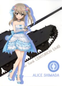 Rating: Safe Score: 36 Tags: dress girls_und_panzer heels shimada_arisu silhouette User: drop