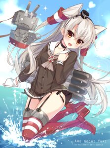 Rating: Questionable Score: 66 Tags: amatsukaze_(kancolle) ame_to_yuki kantai_collection pantsu stockings string_panties thighhighs User: 椎名深夏