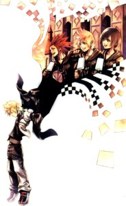 Rating: Safe Score: 24 Tags: axel kingdom_hearts nomura_tetsuya roxas xion_(kingdom_hearts) User: Yuffie