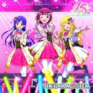 Rating: Safe Score: 11 Tags: amami_haruka disc_cover hoshii_miki kisaragi_chihaya tagme the_idolm@ster thighhighs User: saemonnokami